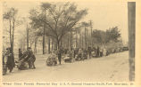Wheel Chair Parade Memorial Day U.S.A. General Hospital No. 28, Fort Sheridan, Ill.