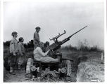 Anti-aircraft gun training.  92.24.2129
