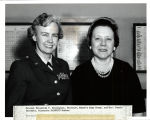 Colonel Elizabeth P. Hoisington, Director, Womens Army Corps, and Mrs. Connie Burchett, Minnesota...